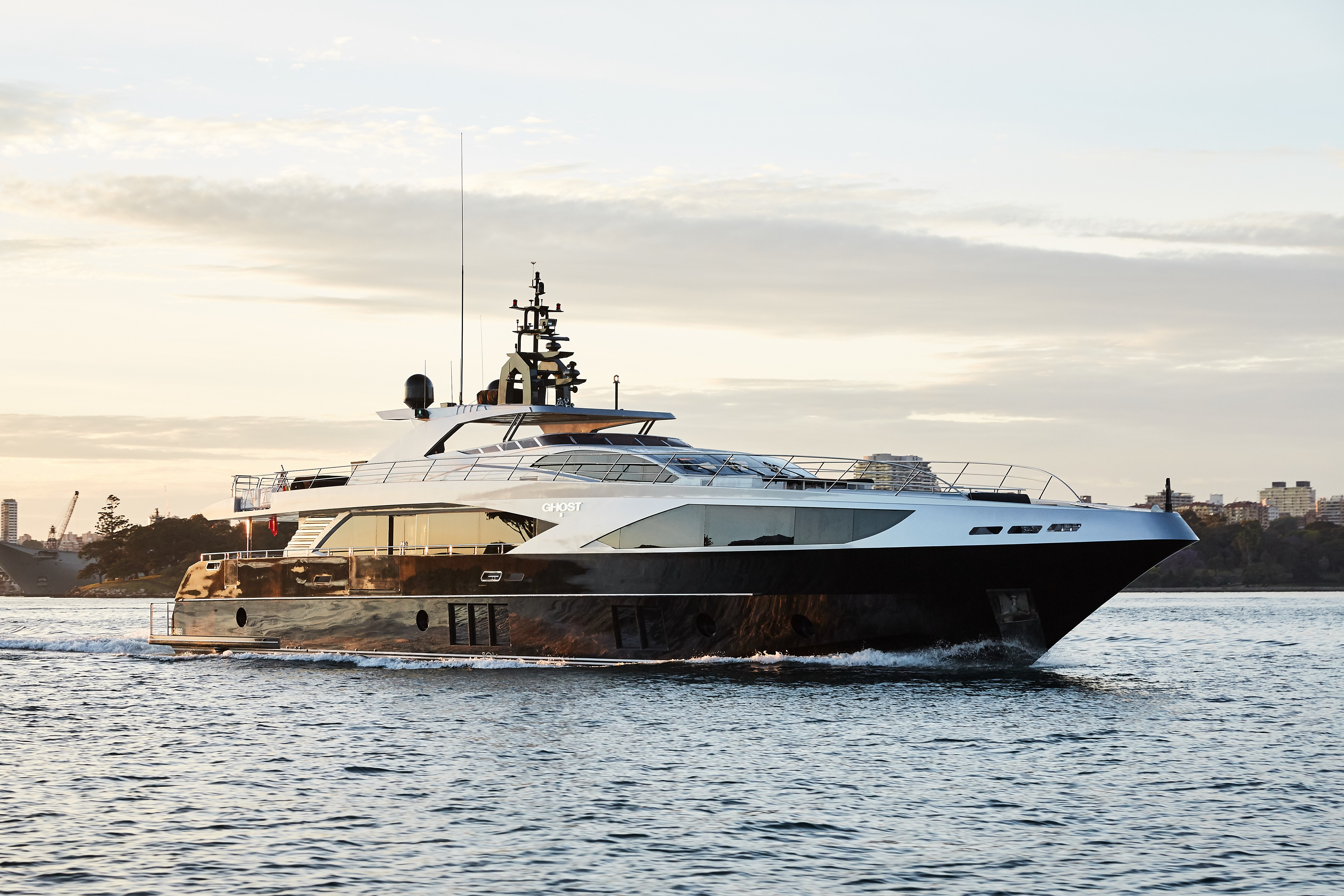 The 37m Yacht GHOST II