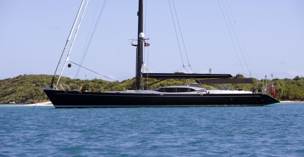 The 37m Yacht MOONBIRD