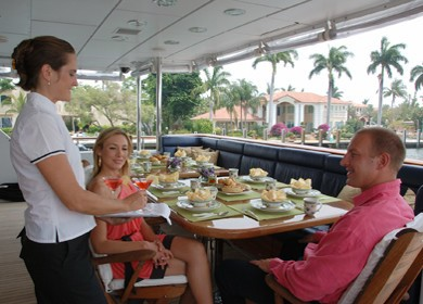 External Eating/dining On Yacht MILK AND HONEY