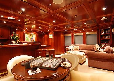 Saloon Aboard Yacht MILK AND HONEY