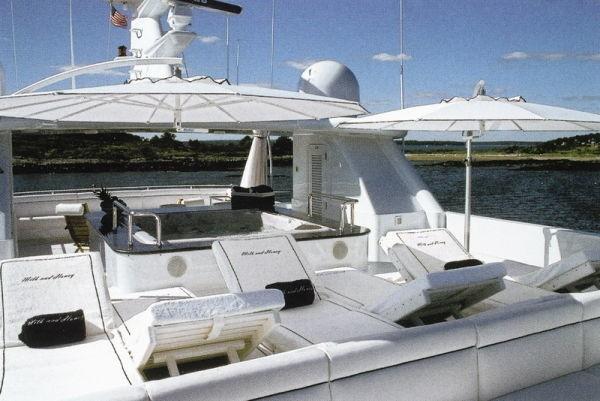 Sun Deck Aboard Yacht MILK AND HONEY