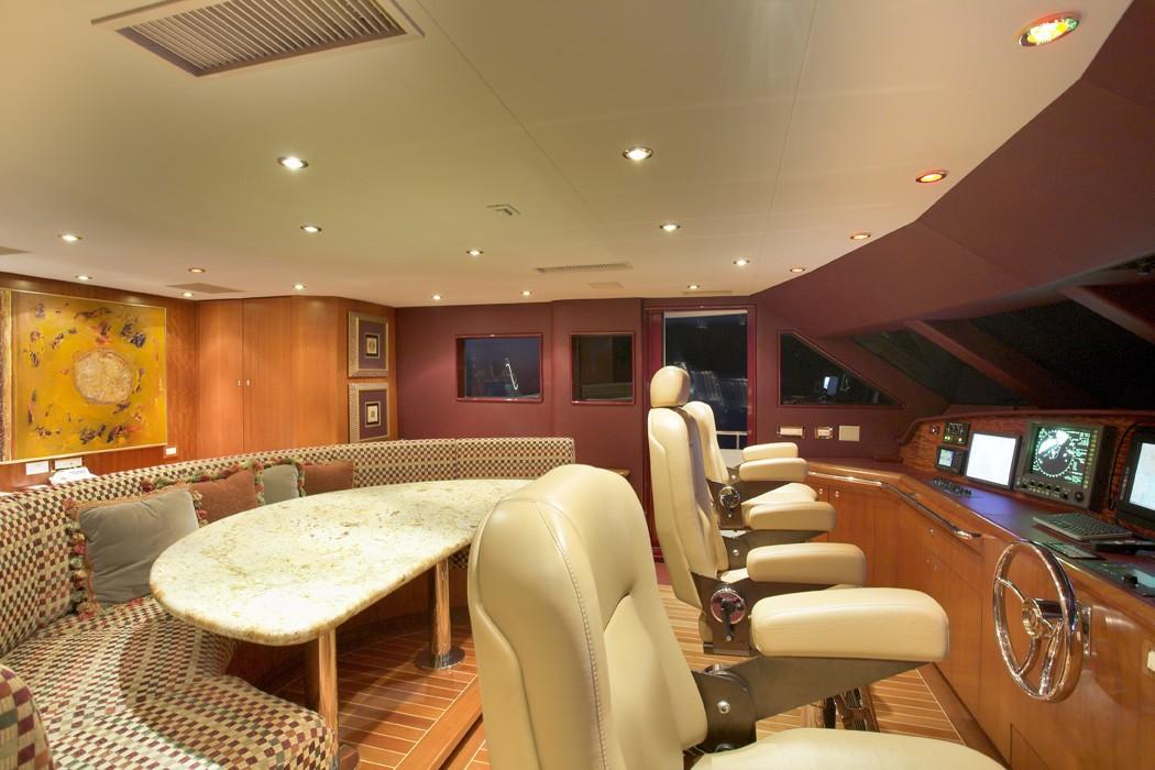 Bridgedeck On Yacht NAMOH