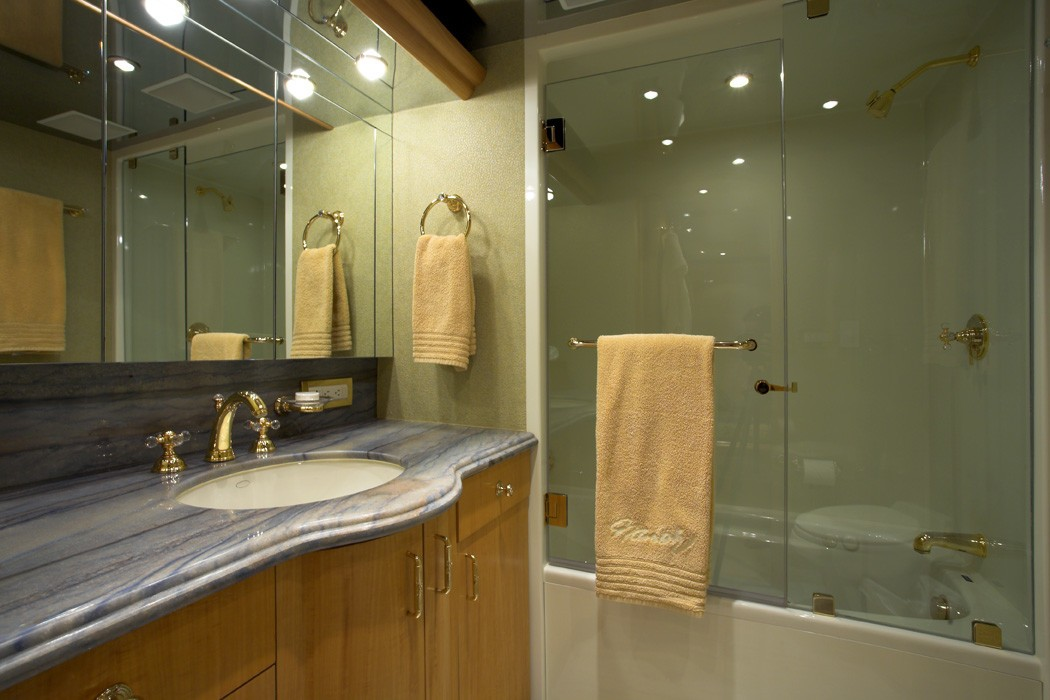Guest's Bathroom On Yacht NAMOH