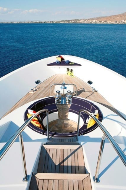Fore Sitting Aboard Yacht ENDLESS SUMMER