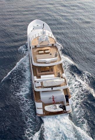 Above: Yacht SENSEI's Cruising Image