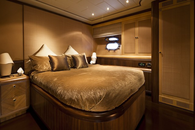 First Guest's Cabin On Board Yacht SHANE