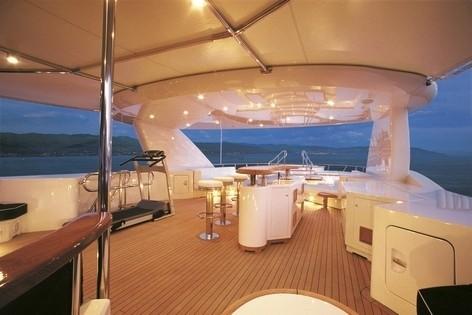 Fly-deck On Board Yacht BLUE BREEZE