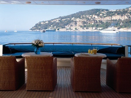 External Eating/dining On Board Yacht BLUE BREEZE