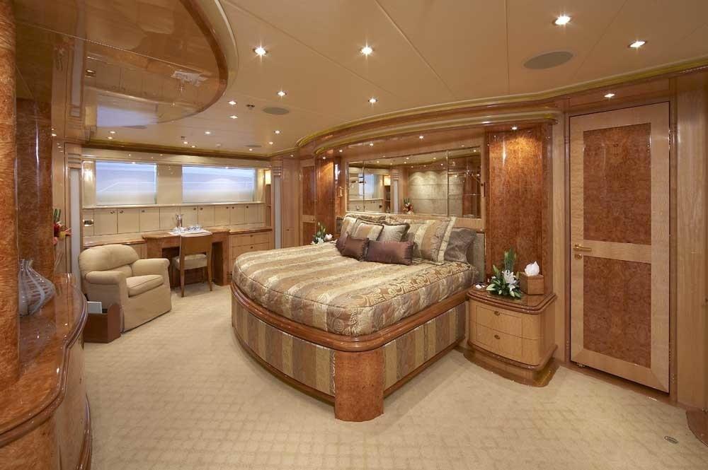 Main Master Cabin Aboard Yacht LADY LEILA