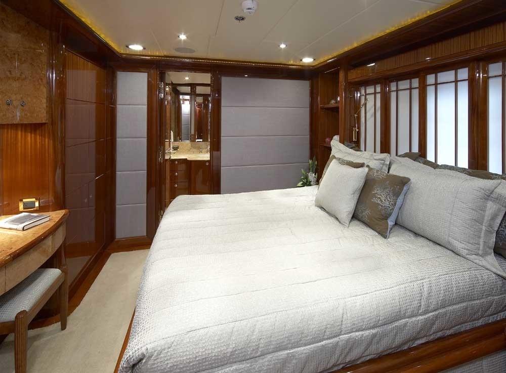 Guest's Cabin Aboard Yacht LADY LEILA
