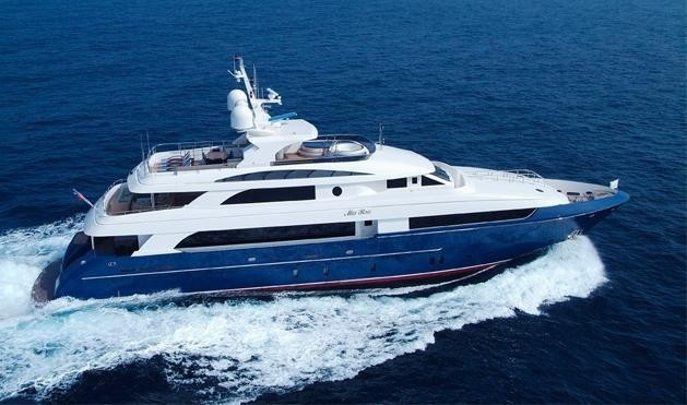 Overview: Yacht LADY LEILA's Cruising Pictured