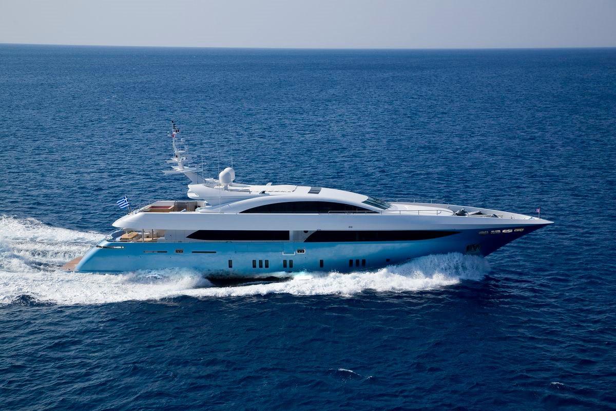 The 41m Yacht BARENTS SEA