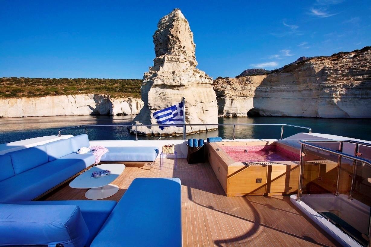 Sun Deck Aboard Yacht BARENTS SEA