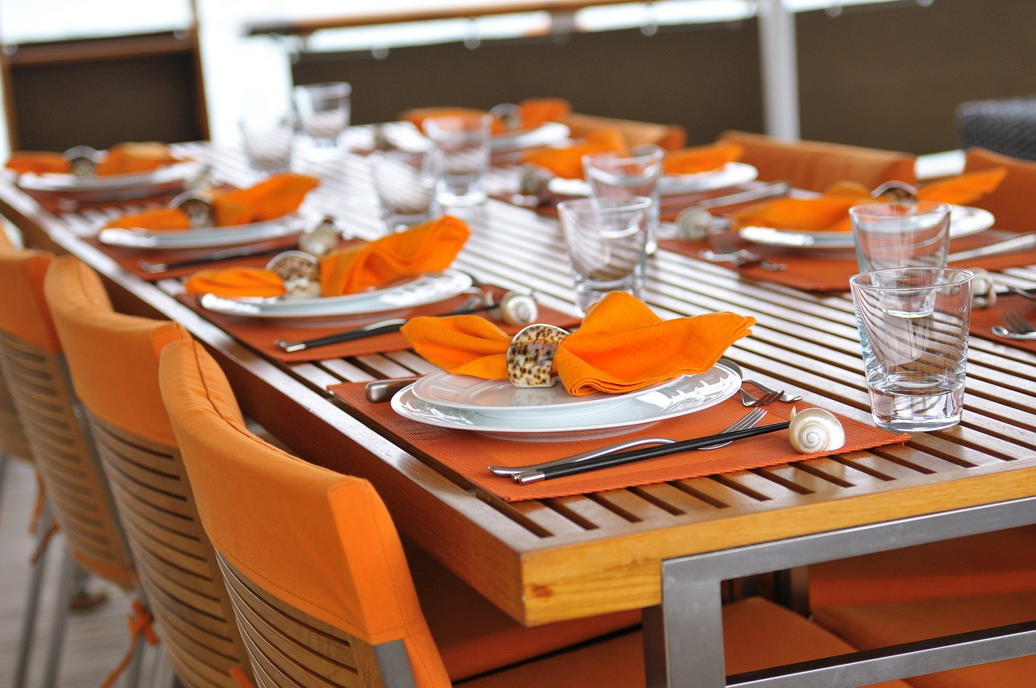 External Eating/dining Furniture On Board Yacht CALISTO