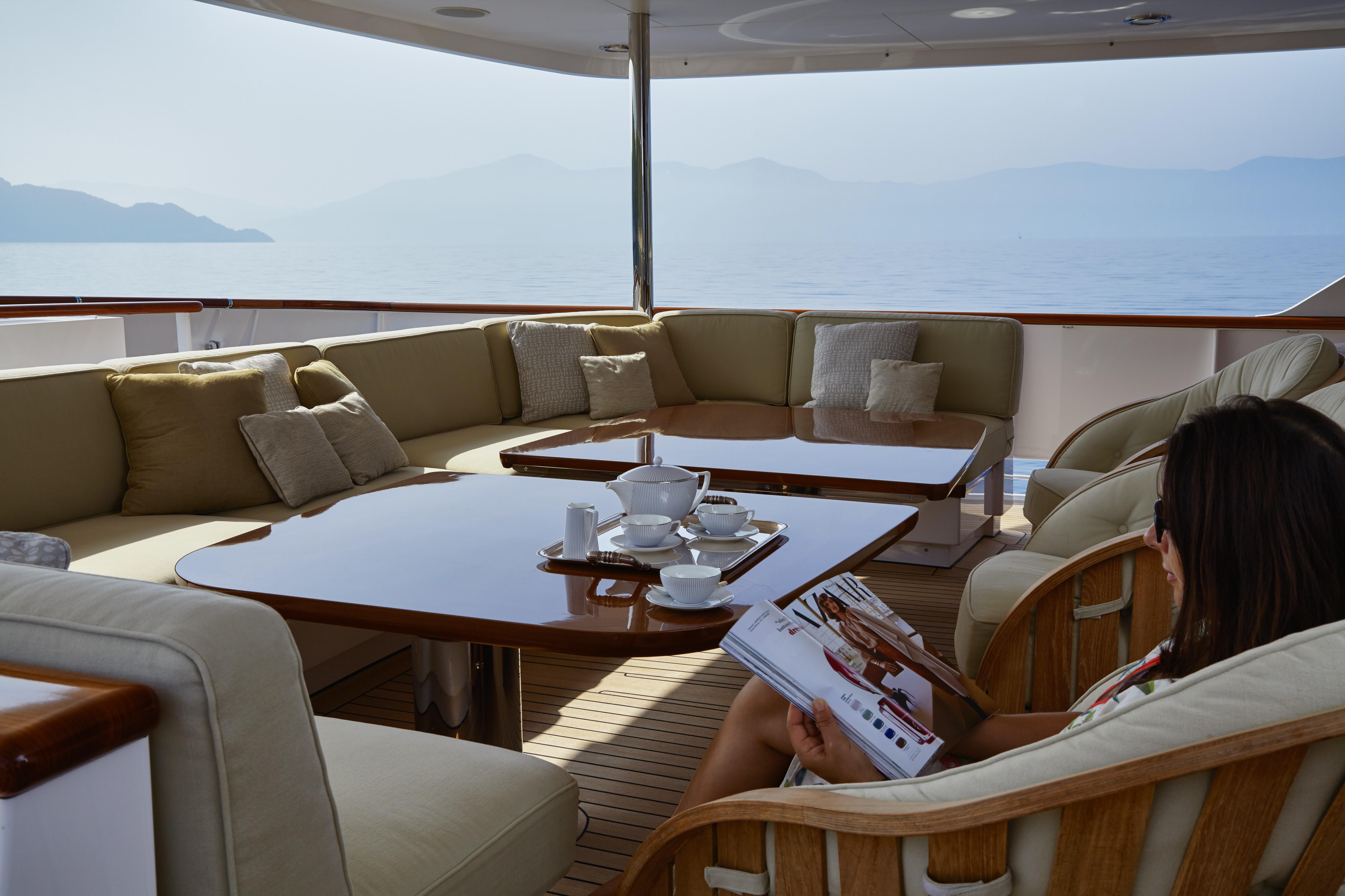 Life Aboard Yacht ANCALLIA