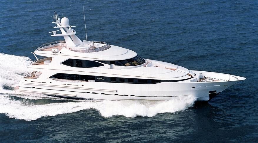 The 42m Yacht IDEFIX