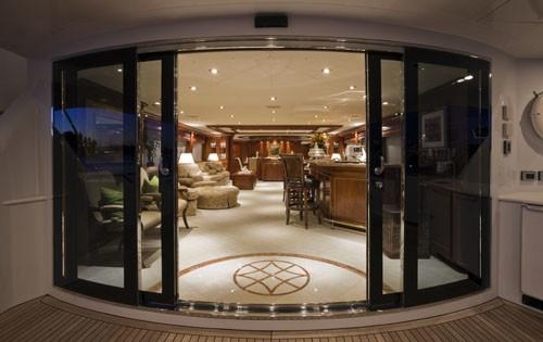 Premier Saloon Taken From Aft Deck On Board Yacht PENNY MAE