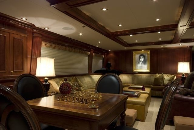 Profile: Yacht PENNY MAE's Premier Saloon Pictured