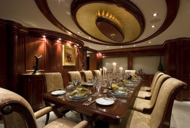 Eating/dining Saloon Aboard Yacht PENNY MAE