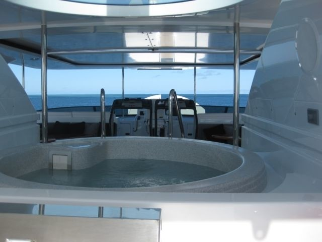 Jacuzzi Pool On Yacht PENNY MAE