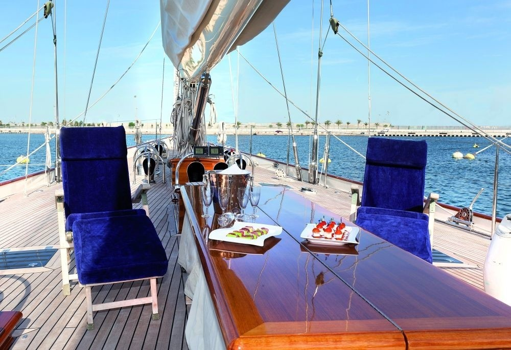 Deck Aboard Yacht THIS IS US