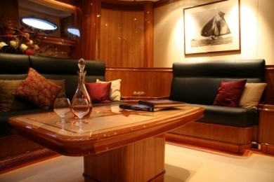 Saloon On Board Yacht THIS IS US