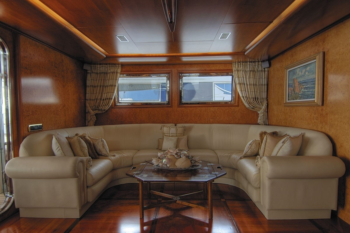 Top Saloon Aboard Yacht CD TWO