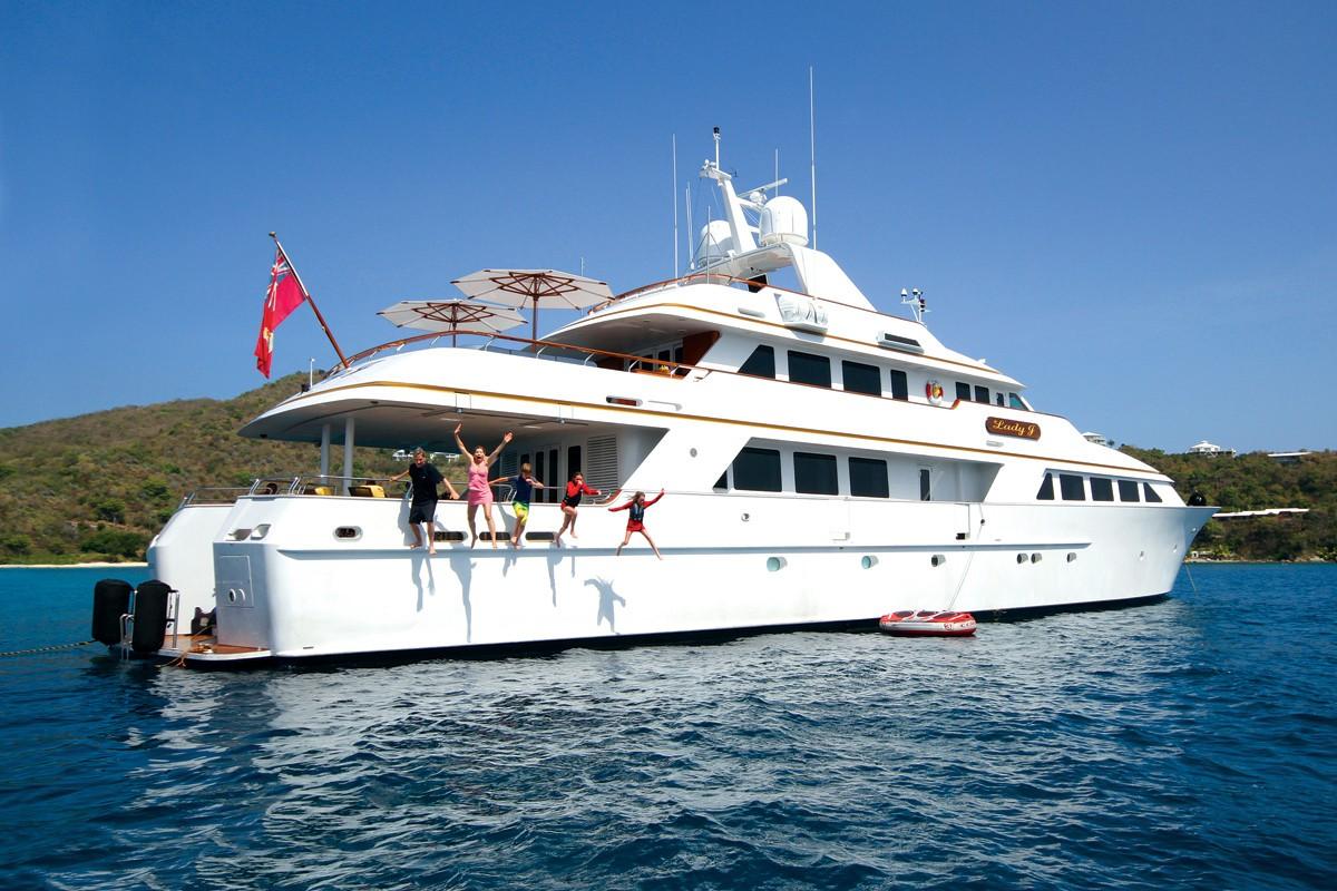 The 43m Yacht LADY J
