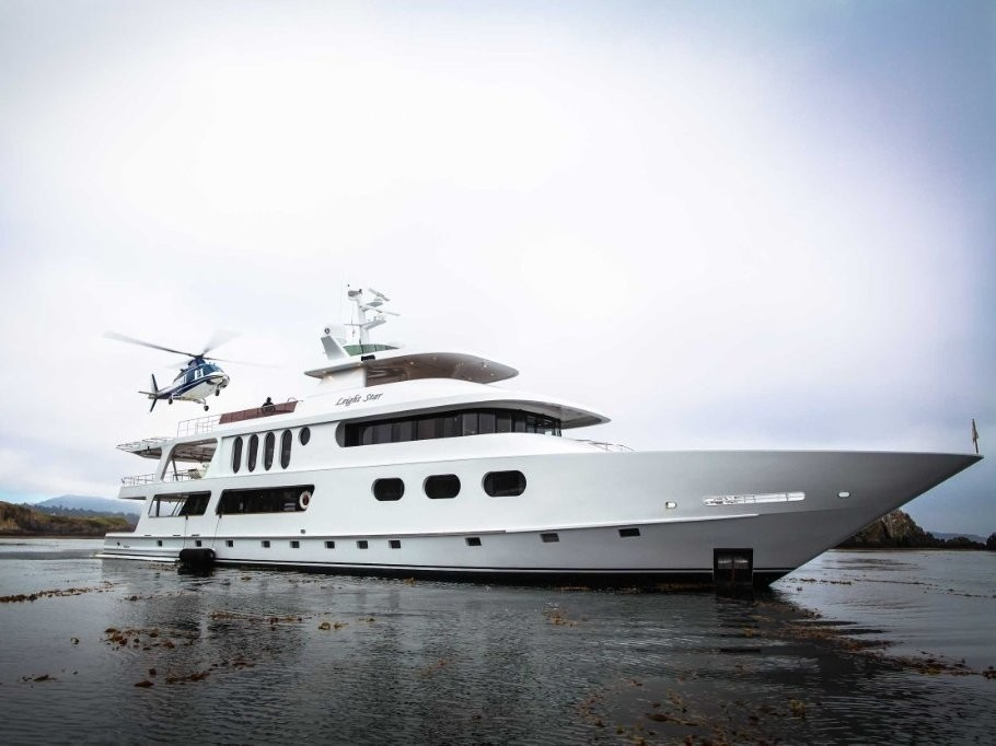 The 43m Yacht LEIGHT STAR