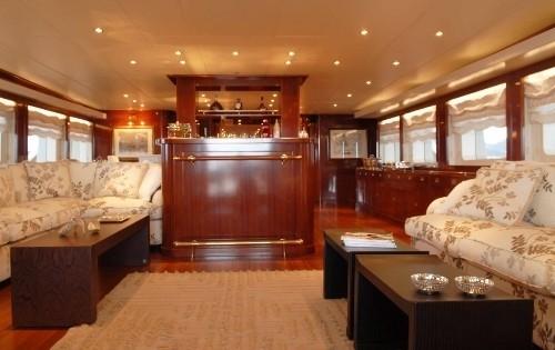 Premier Saloon On Board Yacht ARIETE PRIMO