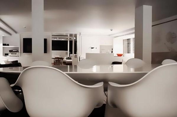 Eating/dining Furniture On Board Yacht BERZINC