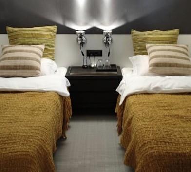 Twin Bed Cabin On Yacht BERZINC
