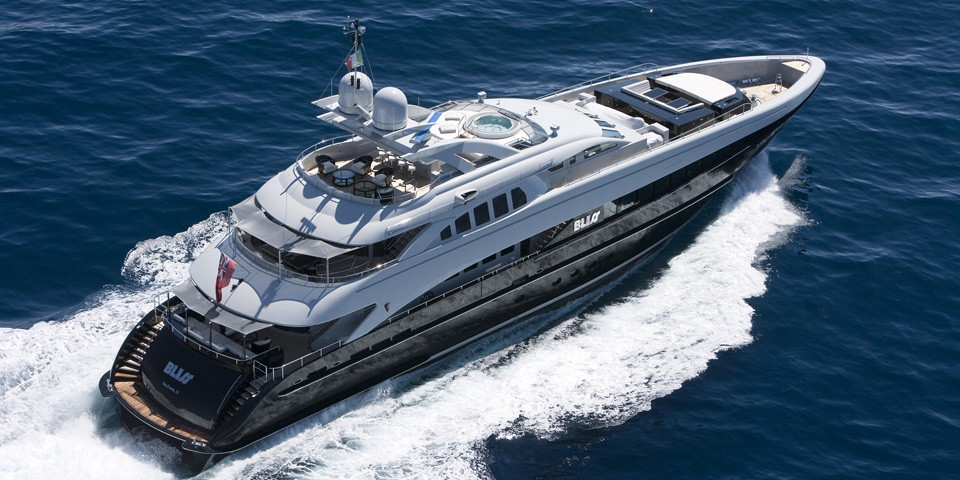 Aft Aspect: Yacht BLISS's Cruising Pictured