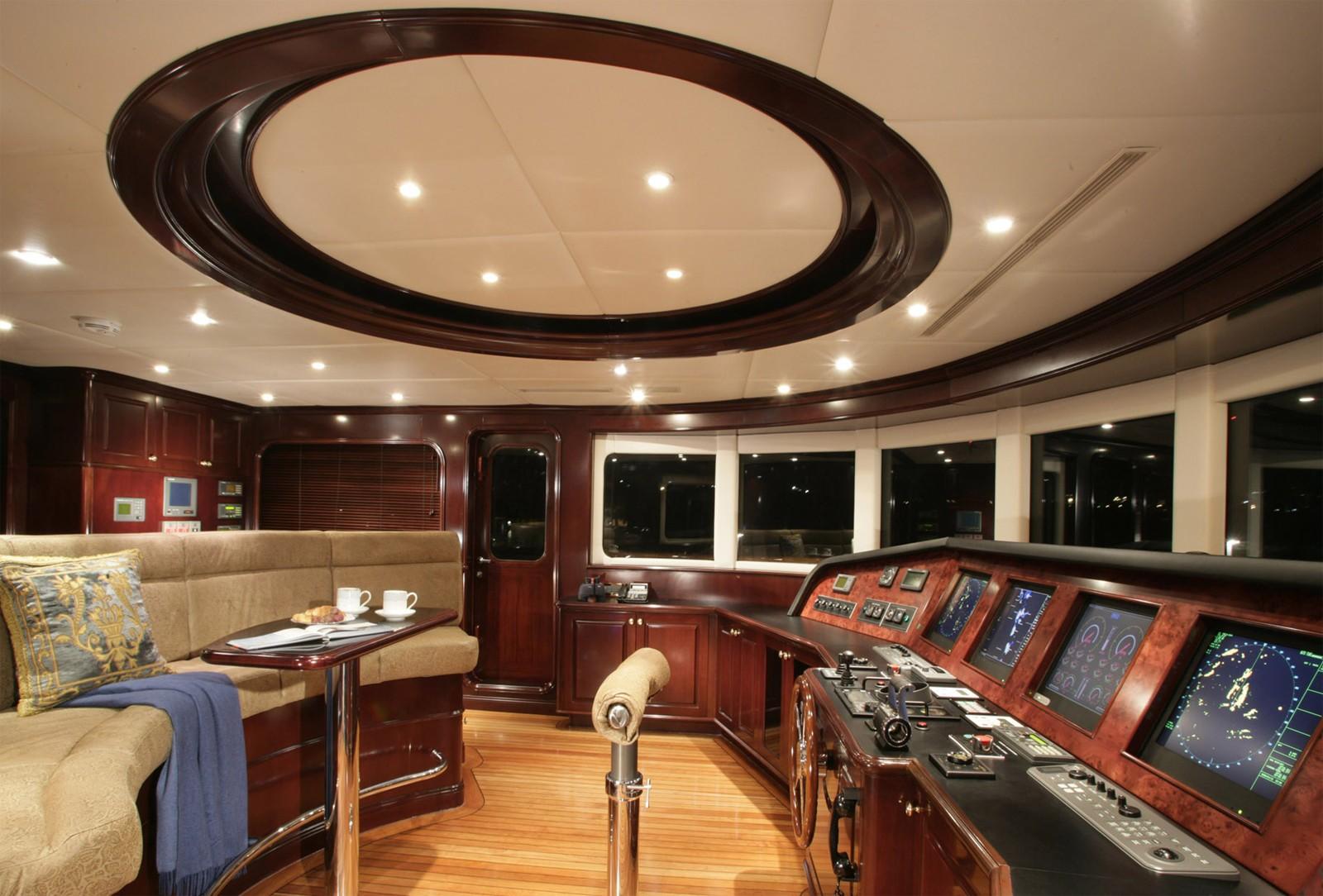Bridgedeck Aboard Yacht CLAIRE