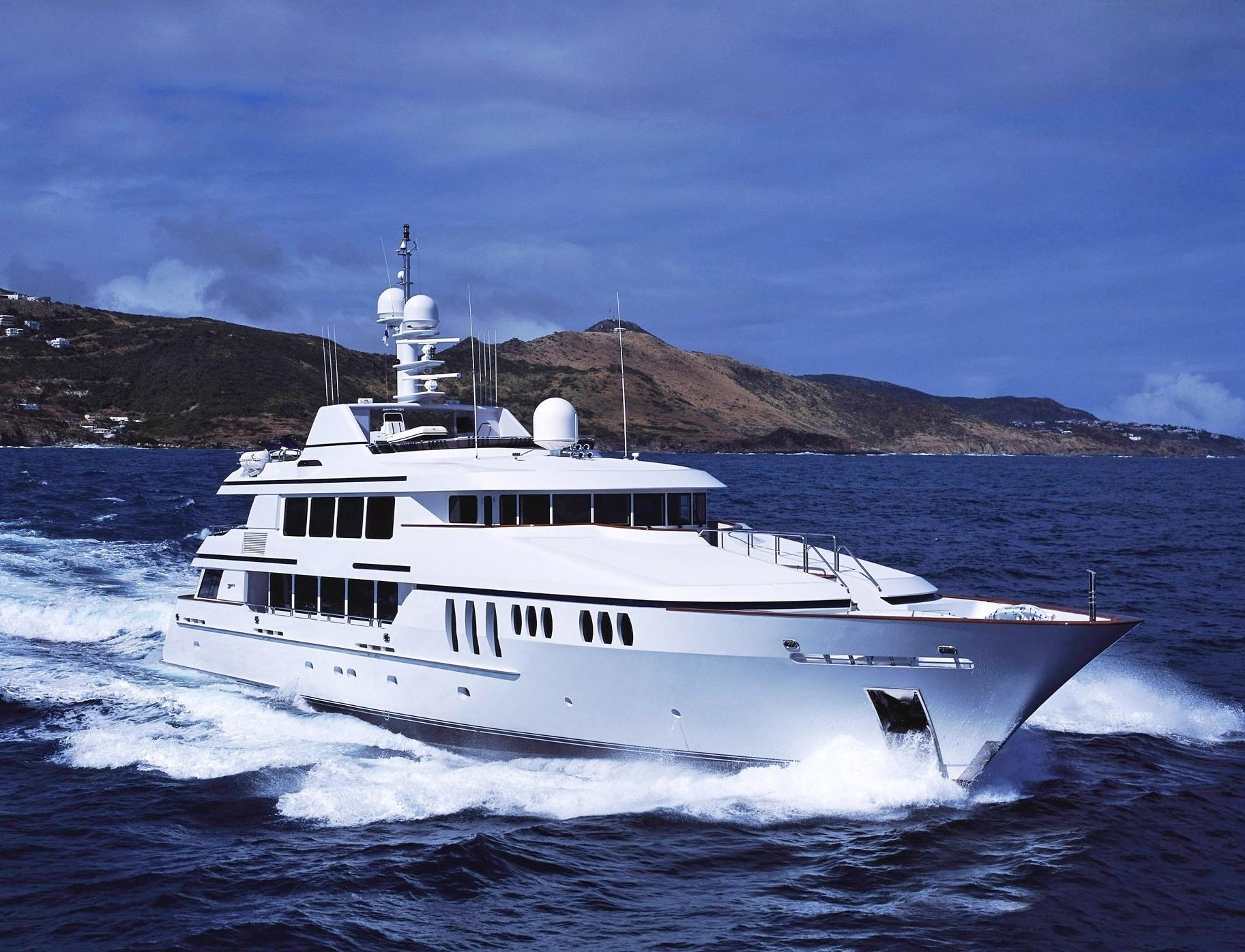 Forward Aspect On Yacht CLAIRE