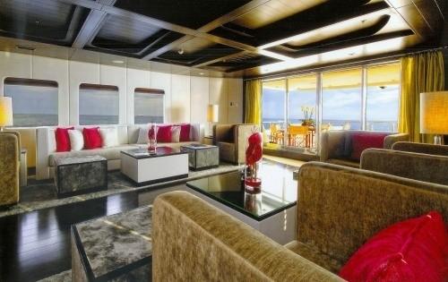 Premier Saloon On Board Yacht FATHOM