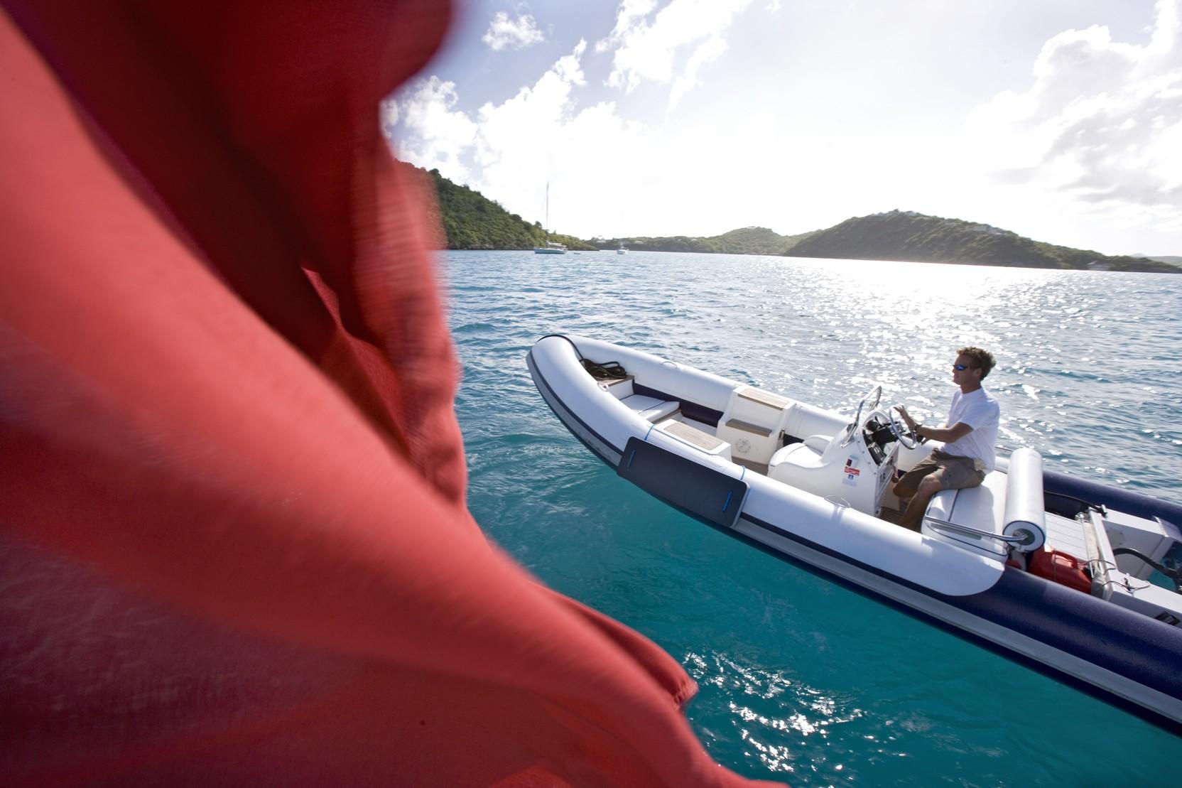 Ship's Tender Aboard Yacht ANTARA