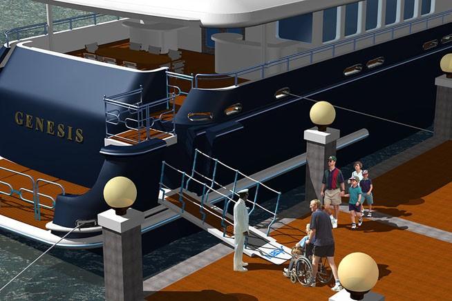 The 46m Yacht ARGYLL