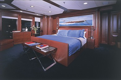 Profile: Yacht ARGYLL's Main Master Cabin Captured