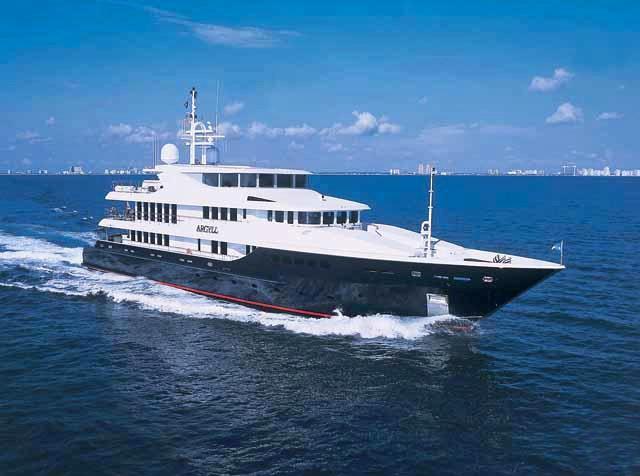Cruising Aboard Yacht ARGYLL