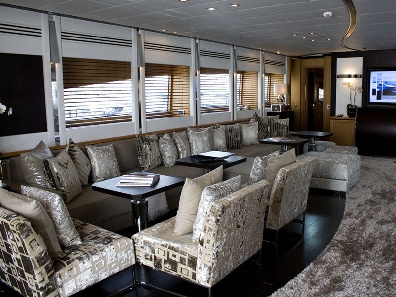 Saloon Aboard Yacht PURE ONE