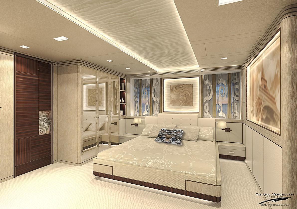 VIP stateroom 'Paris' - rendering