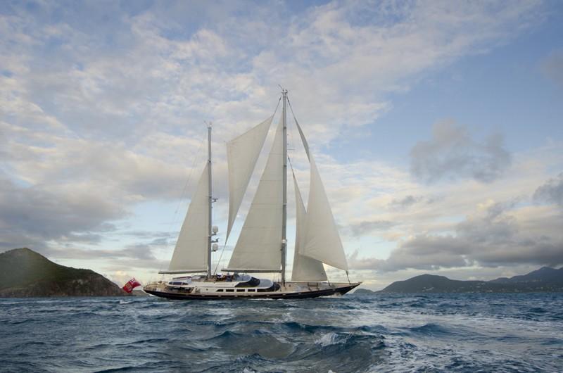 The 47m Yacht ANDROMEDA LA DEA