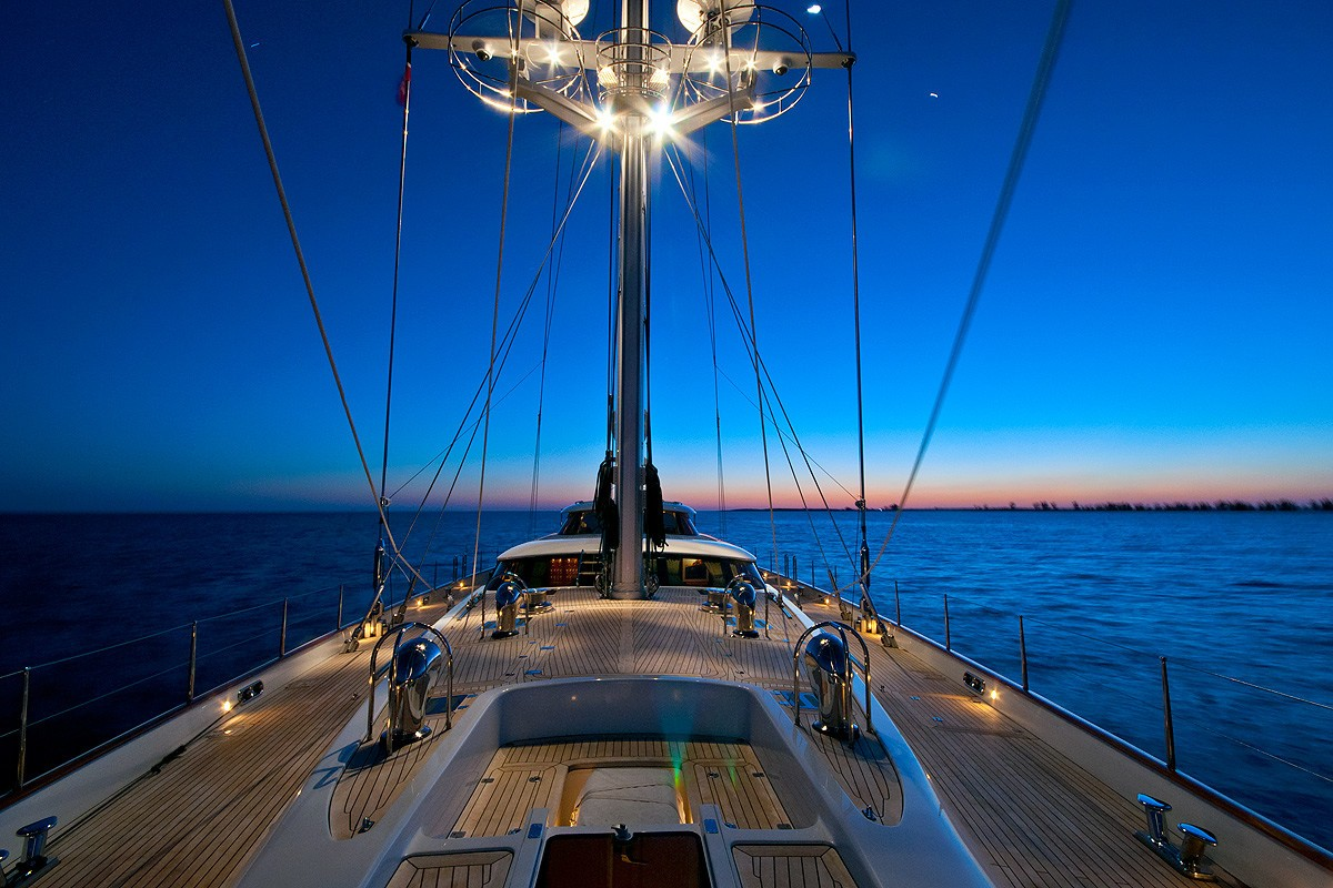 Life On Board Yacht HYPERION