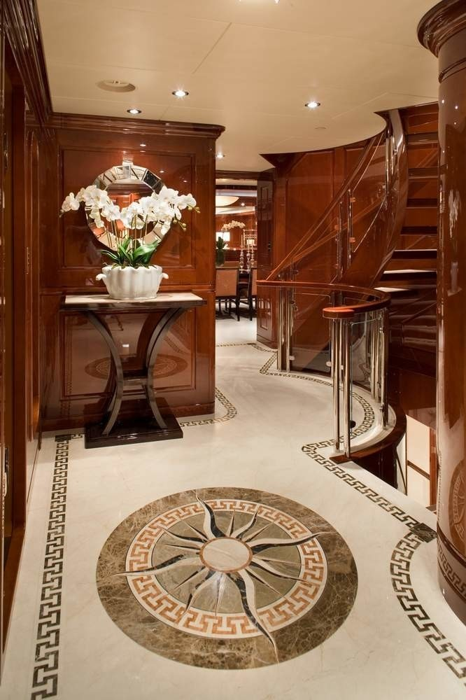 Lobby On Board Yacht NO COMMENT