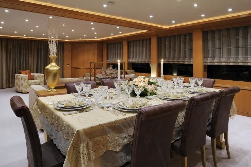 Eating/dining Saloon On Yacht OASIS