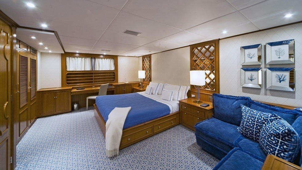 VIP Cabin On Board Yacht AUDACIA