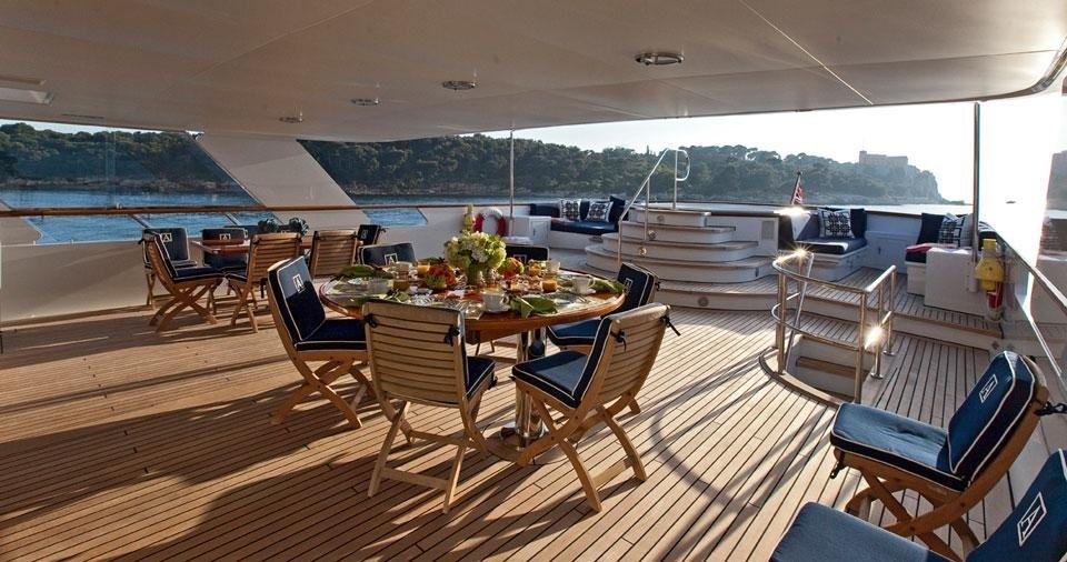 Outdoor On Yacht AUDACIA