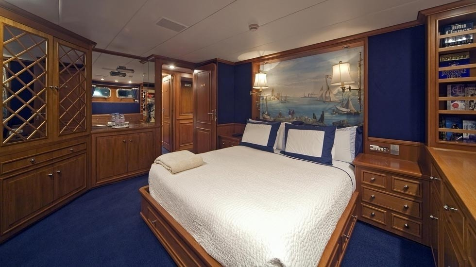 Guest's Cabin Including Queen Sized Aboard Yacht AUDACIA