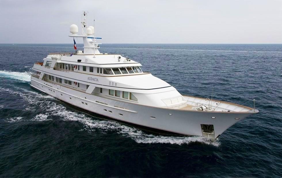 Cruising Aboard Yacht AUDACIA
